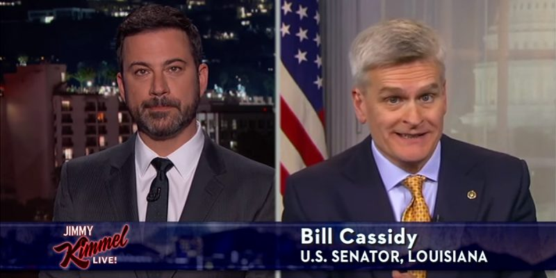 VIDEO: Bill Cassidy's Appearance On Jimmy Kimmel Monday Night
