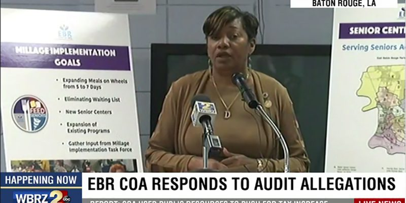 Denise Marcelle Makes An Ass Of Herself At The COA Press Conference Today