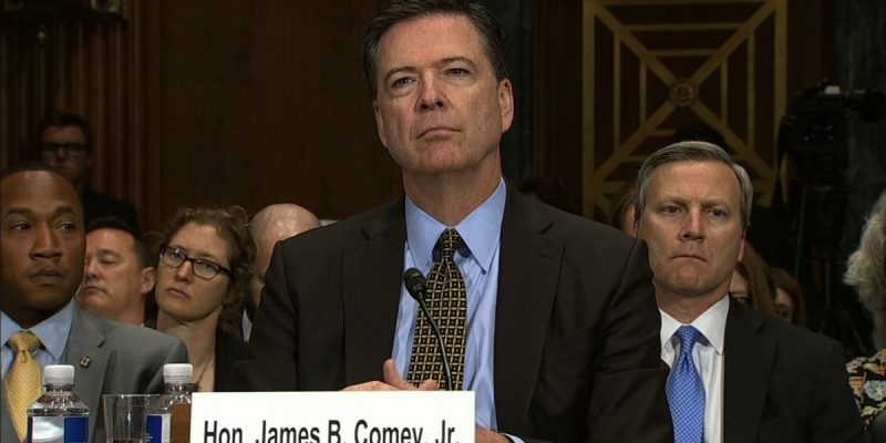 No, I'm Not Watching The James Comey Hearing
