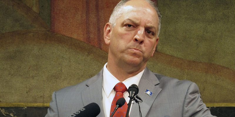 Late Developments Indicate John Bel Edwards Won't Like The Coming Special Session Much After All