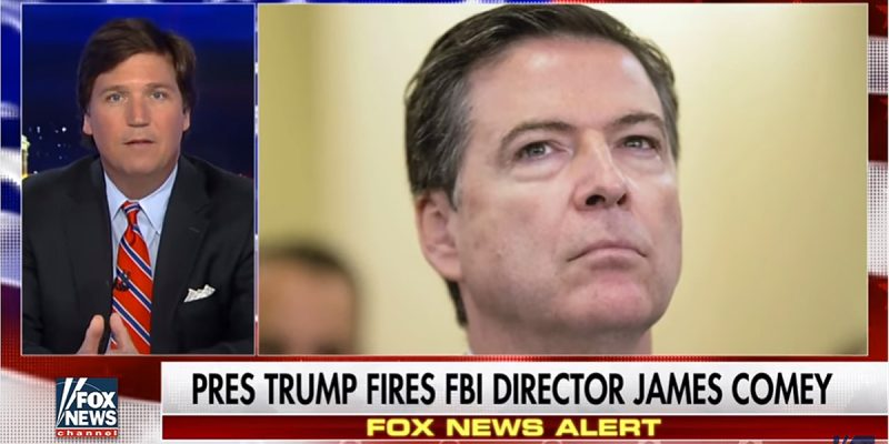 VIDEO: Tucker Carlson On The James Comey Firing