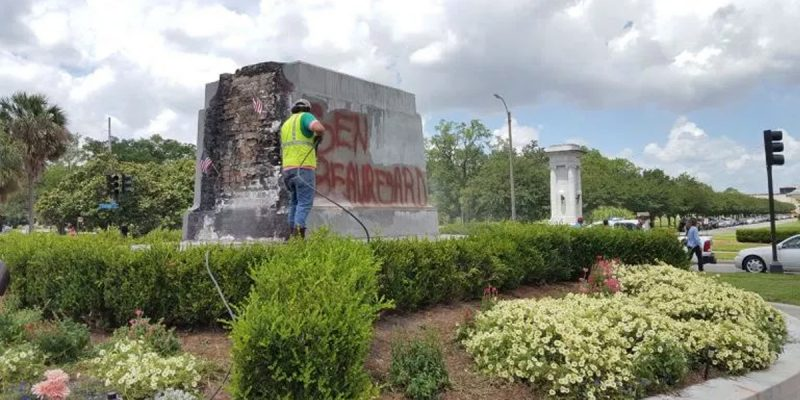 BATISTE: NOPD Makes First Monument Vandalism Arrest In Two Years!