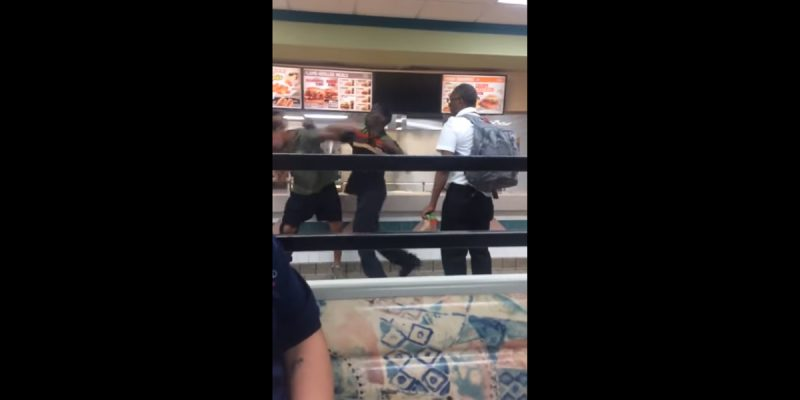 VIDEO (NSFW): Dinner And A Show At A Houston Burger King