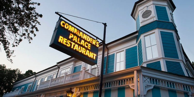 Not Even Commander's Palace Is Safe In New Orleans