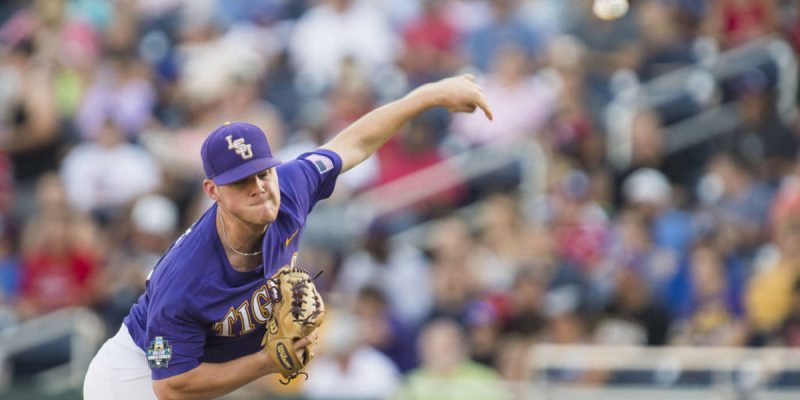 VIDEO: Jared Poche Breaks The LSU Record For Career Victories, Then Delivers The Post-Game Speech