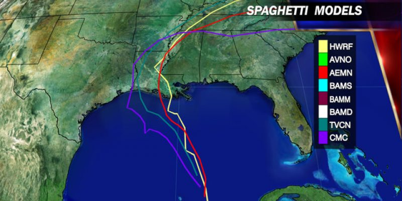 Where Will Hurricane Season's First Louisiana Storm Land?