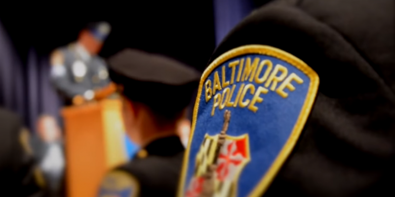 Baltimore Police Officer Records Himself Planting Drugs