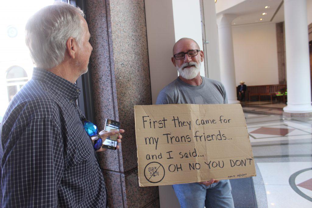 Texas Privacy Act Bathroom Bill Gay Conservative