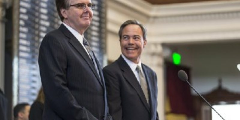Joe Straus And Dan Patrick Need To End Their Feud For The Good Of Texas
