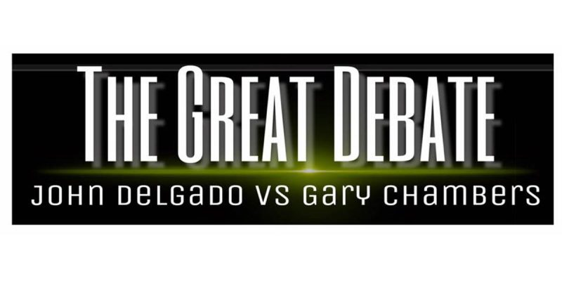 Tomorrow, It'll Be John Delgado vs. Gary Chambers In A Facebook Live Spectacular…