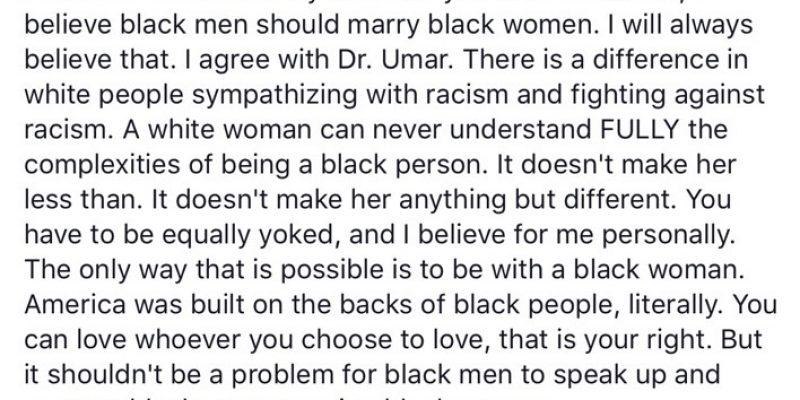 Marital Advice From Gary Chambers
