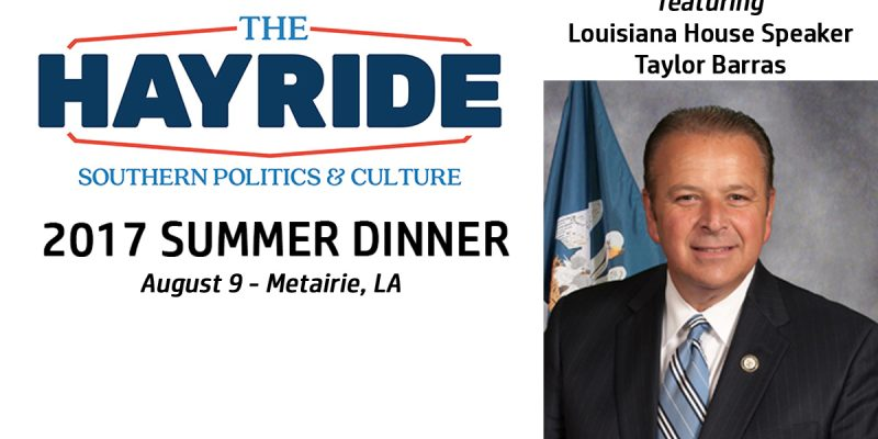 Join Us In Metairie On August 9 For The Hayride Summer Dinner!