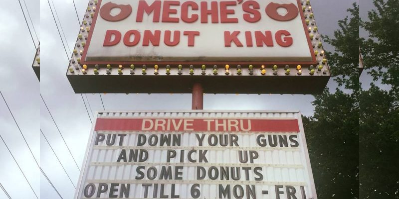 Lafayette Donut Shop Asks People To Stop Shooting In Crime-Ridden Area, Chaos Ensues