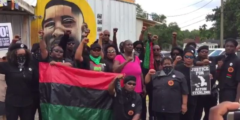 FAGAN: (Video) Baton Rouge Activist Caught On Tape Saying Many More Black Panthers Are Heading To Baton Rouge And They Will Bring Violence