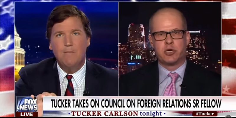 VIDEO: The Tucker Carlson-Max Boot Disaster
