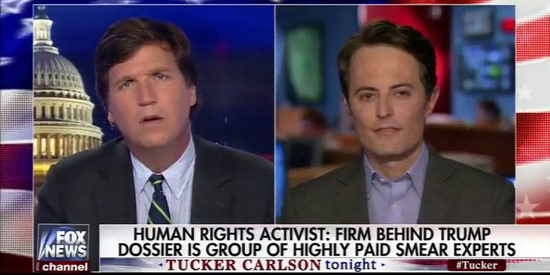 VIDEO: Tucker Carlson Interviews One Of Fusion GPS' Smear Victims (And You've Got To See It)