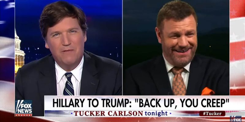 VIDEO: Tucker Carlson And Mark Steyn Yuk It Up Over Hillary's New Book