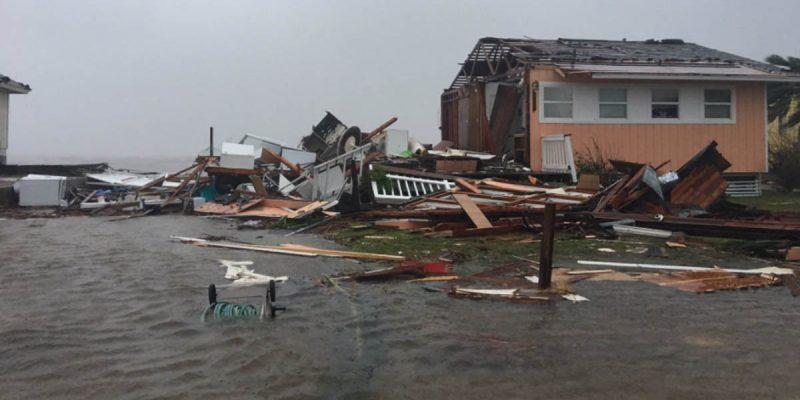 VIDEO: Harvey Makes Landfall Along The Texas Coast