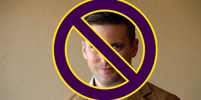 F. King Alexander Says Richard Spencer Is Trying To Speak At LSU, And Says No