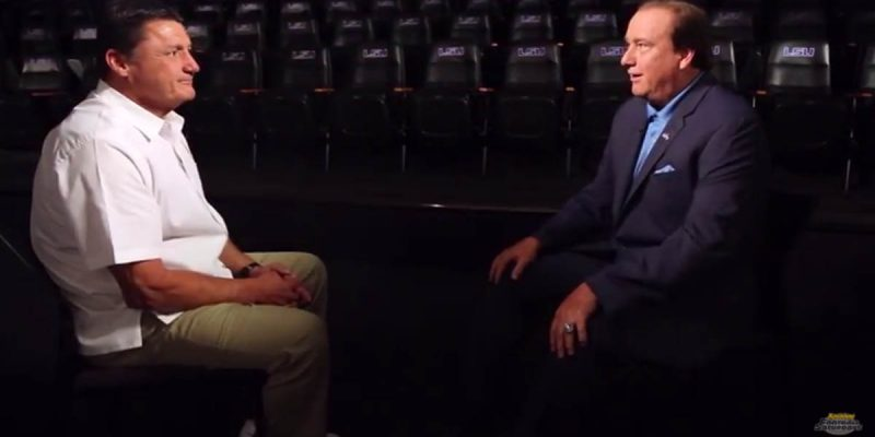 "VIDEO: The Tim Brando ""This Is Your Life"" Interview With Ed Orgeron"