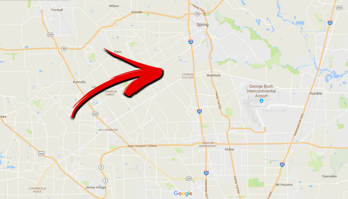 Houston Map Inside 610 Picture Ideas References