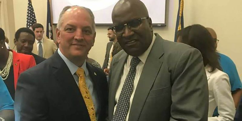 How Much Silky Slim Dirt Does John Bel Edwards Have On His Hands?