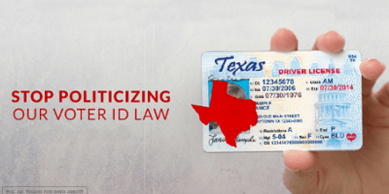 Texas Voter ID Laws Restored For November Elections