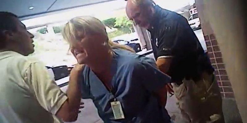 Utah Nurse Restrained For Doing Her Job – Astonishing Video