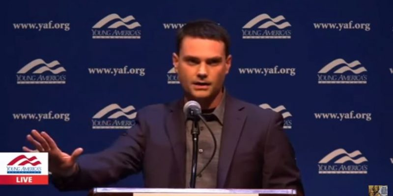 VIDEO: Ben Shapiro's Berkeley Tour De Force