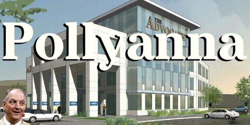 The Pollyanna Advocate's Interesting Choice Of Headlines On Economic News
