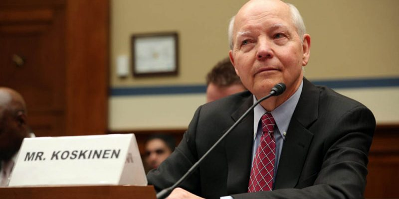 John Koskinen Is FINALLY Out As Head Of The IRS