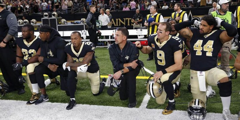 The Saints' Failed Tribute To Marcus McNeil Ought To Be The Last Of The Kneeling