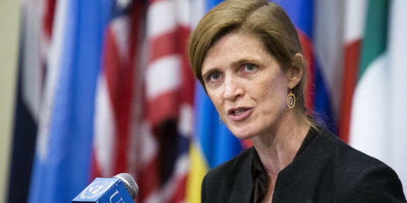 We Agree With Samantha Power, And We Share Her Obvious Concerns