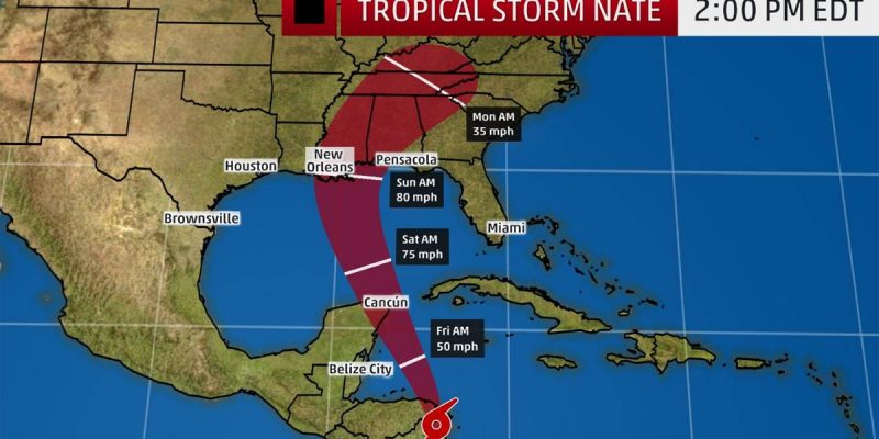 Looks Like It Might Now Be Louisiana's Turn To Catch A Hurricane