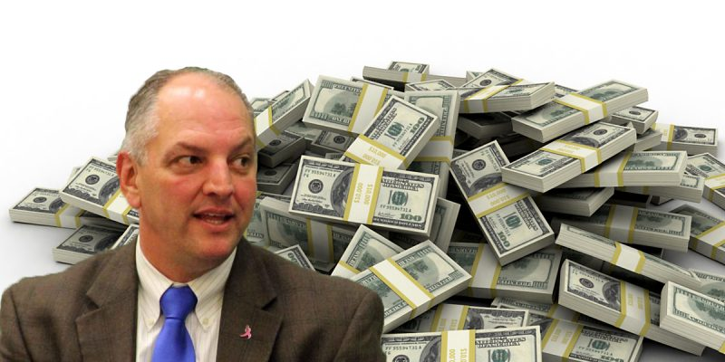 John Bel Edwards' Big Announcement Today Is He's Giving Away $120 Million In Corporate Welfare (UPDATED: $44 Million)