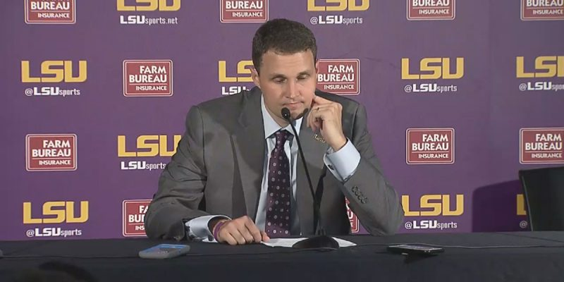 LSU Put Up 105 Points Last Night And Beat Samford Comfortably, But Here Was Will Wade Afterwards…