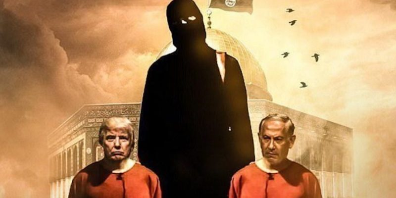 ISIS Posts Photo Montage Of Trump, Netanyahu Beheading After Jerusalem Announcement