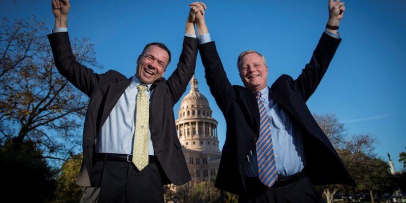 Man Who Sued Texas Over Same-Sex Marriage Running as First Openly Gay Senate Candidate