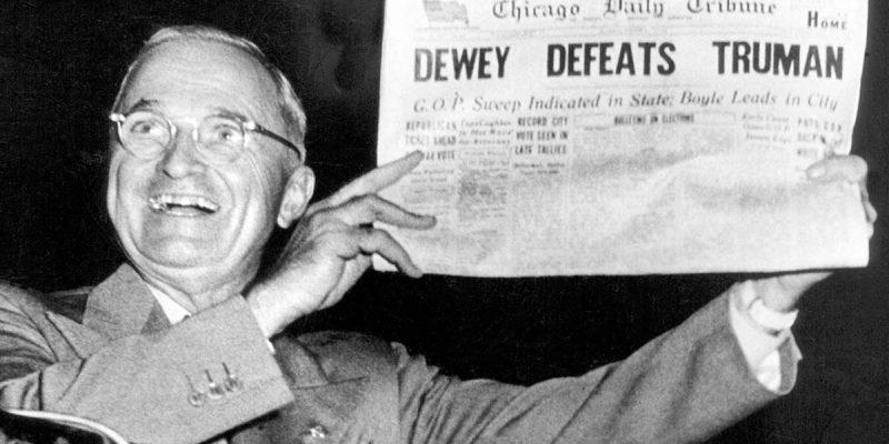 WAGUESPACK: Dewey Defeats Truman