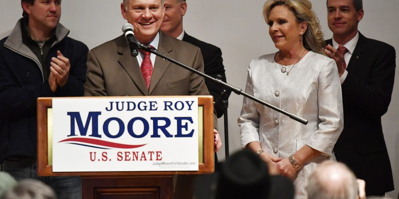 Roy Moore Files Lawsuit to Stop Alabama from Certifying Democrat Doug Jones