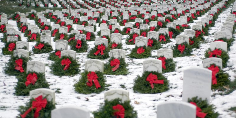 Honor Fallen U.S. Military on Wreaths Across America Day December 16th