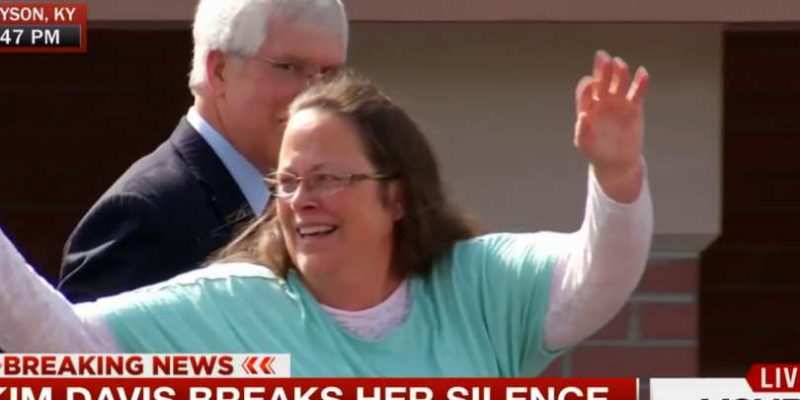 Kim Davis, jailed for not signing same-sex 'marriage' licenses, is running for re-election