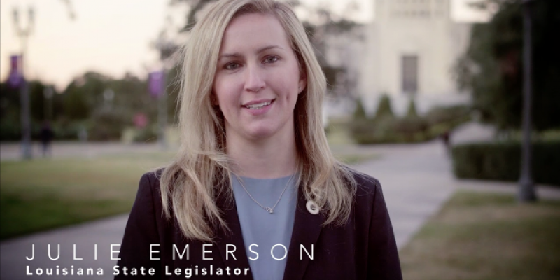 VIDEO: Rep. Julie Emerson And The Grand NEW Party