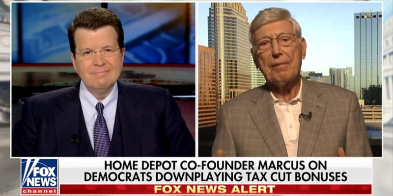 VIDEO: Did You See Bernie Marcus Trash The Democrats On Tax Reform Friday?