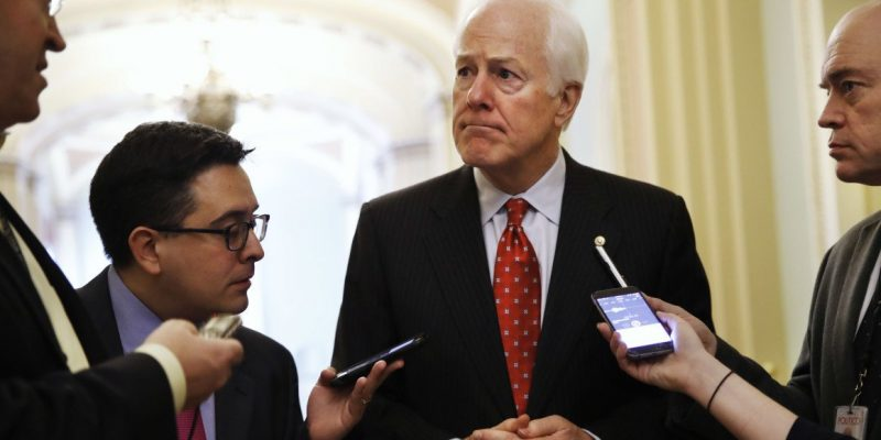 Oops… TWITTER notifies Sen. John Cornyn for interacting with Russian content