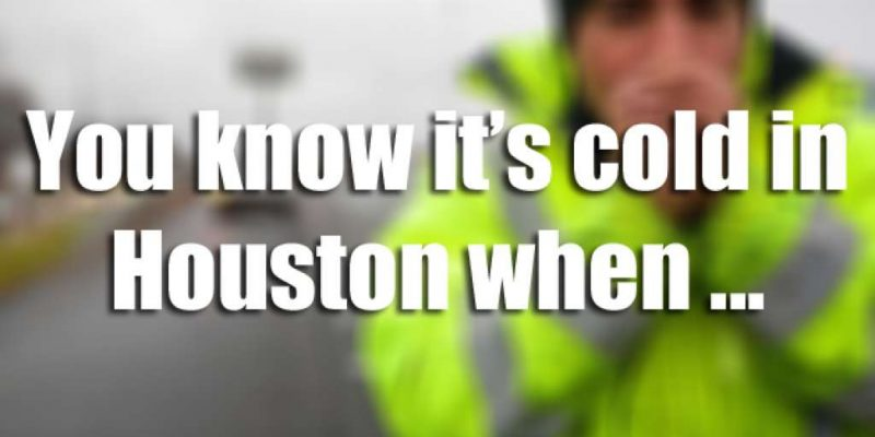 Still Freezing in Houston, Police Issue Road Warnings, Star of Hope Needs Donations