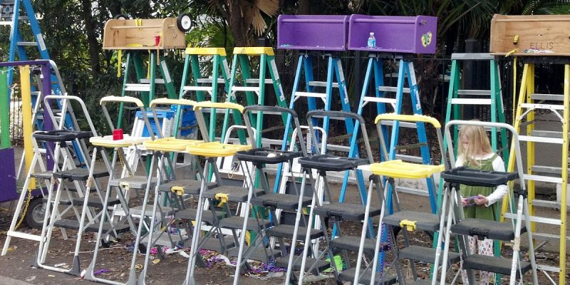 BATISTE: Now, Mitch Landrieu Is Out Stealing Mardi Gras Ladders