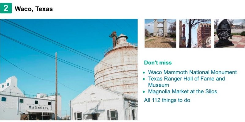 This is the only Texas town that made TripAdvisor's 'Top Destinations on the Rise' List