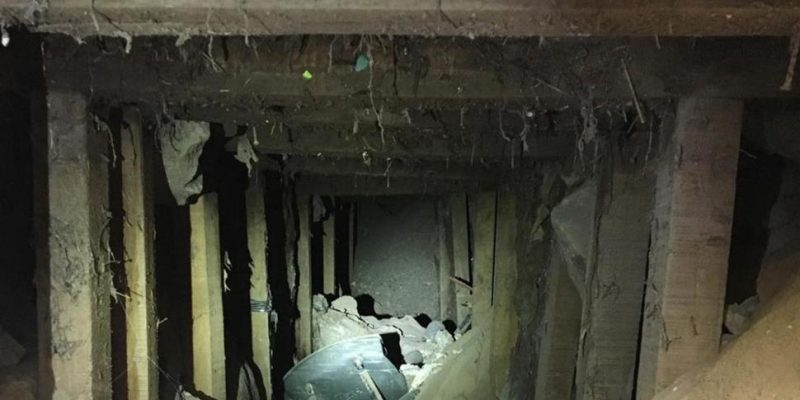 BREAKING: Road Crew Discovers Tunnel from Mexico to Texas