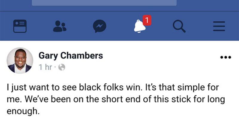 gary chambers black folks win